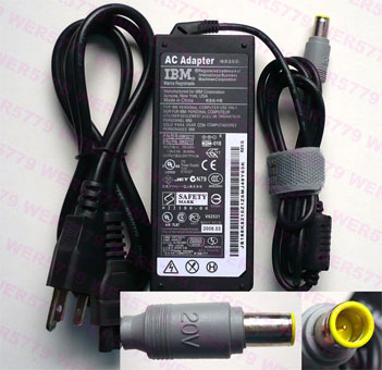 IBM Lenovo X60 2510 AC Adapter 65w 20V 3,25A