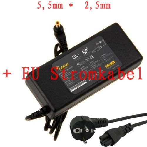 90W MSI M645 M16N80 M675 M677 laptop AC Adapter