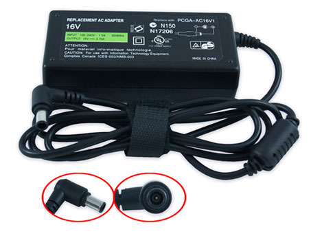 Sony Vaio VGN-S62S/S 16V 3,75A 60W AC Adapter