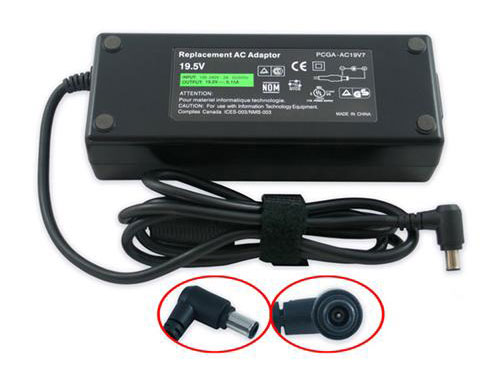 Sony PCGA-AC19V7 19,5V 6,15A 120W laptop AC Adapter