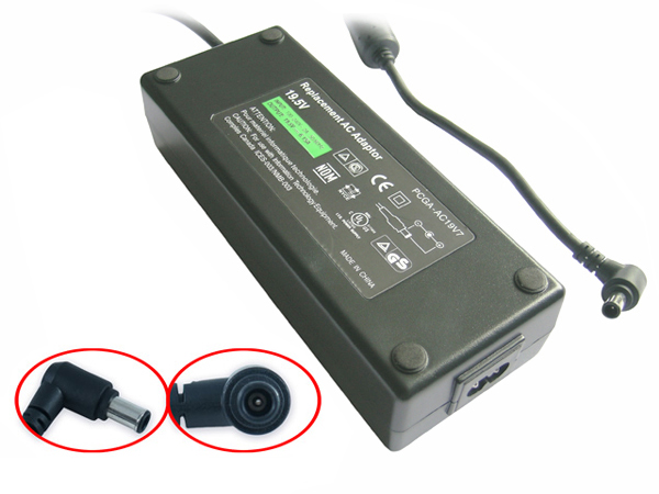 Sony PCGA-AC19V7 19,5V 7,7A 150W laptop AC Adapter